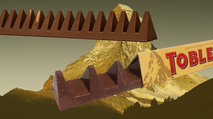 Toblerone - egy látványos zsugorodás
