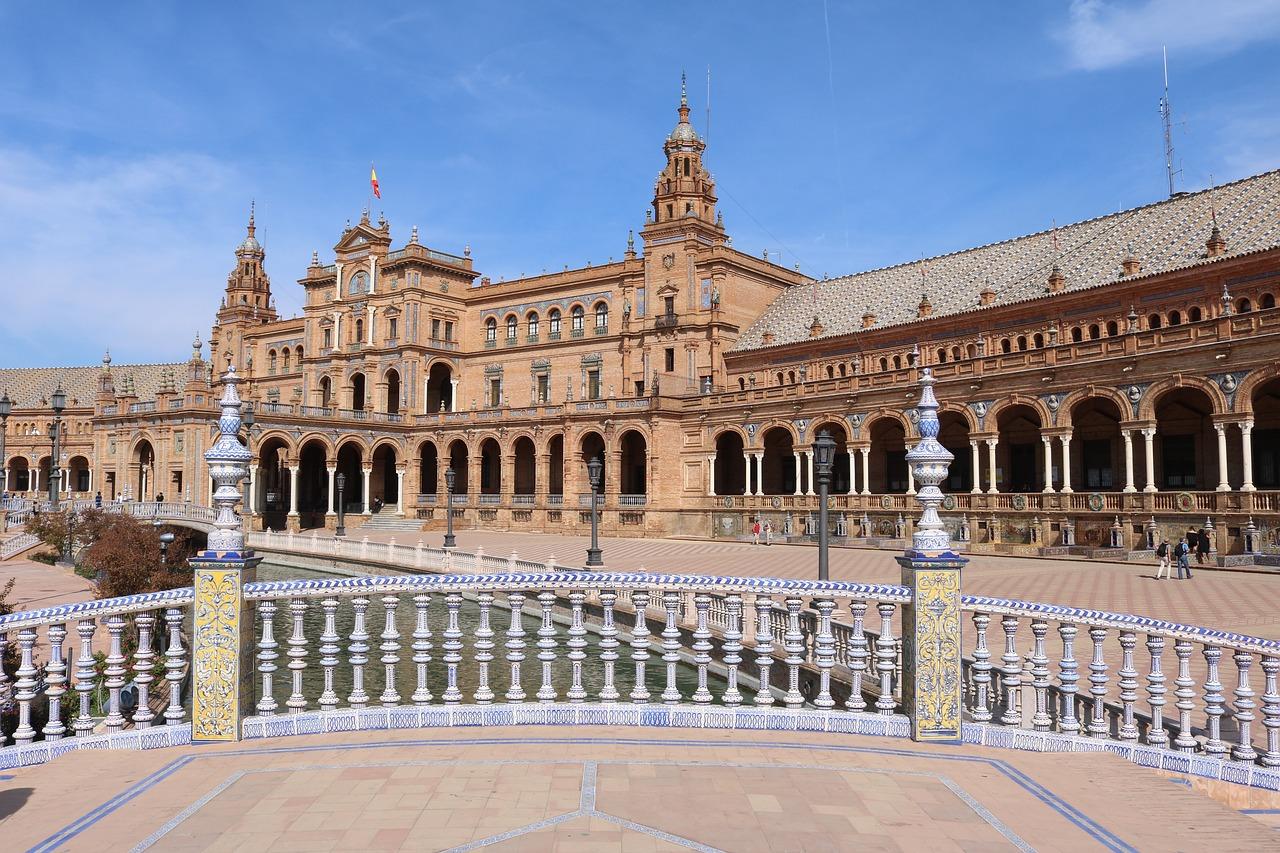 Sevilla - Plaza de Espana (Andalúzia)