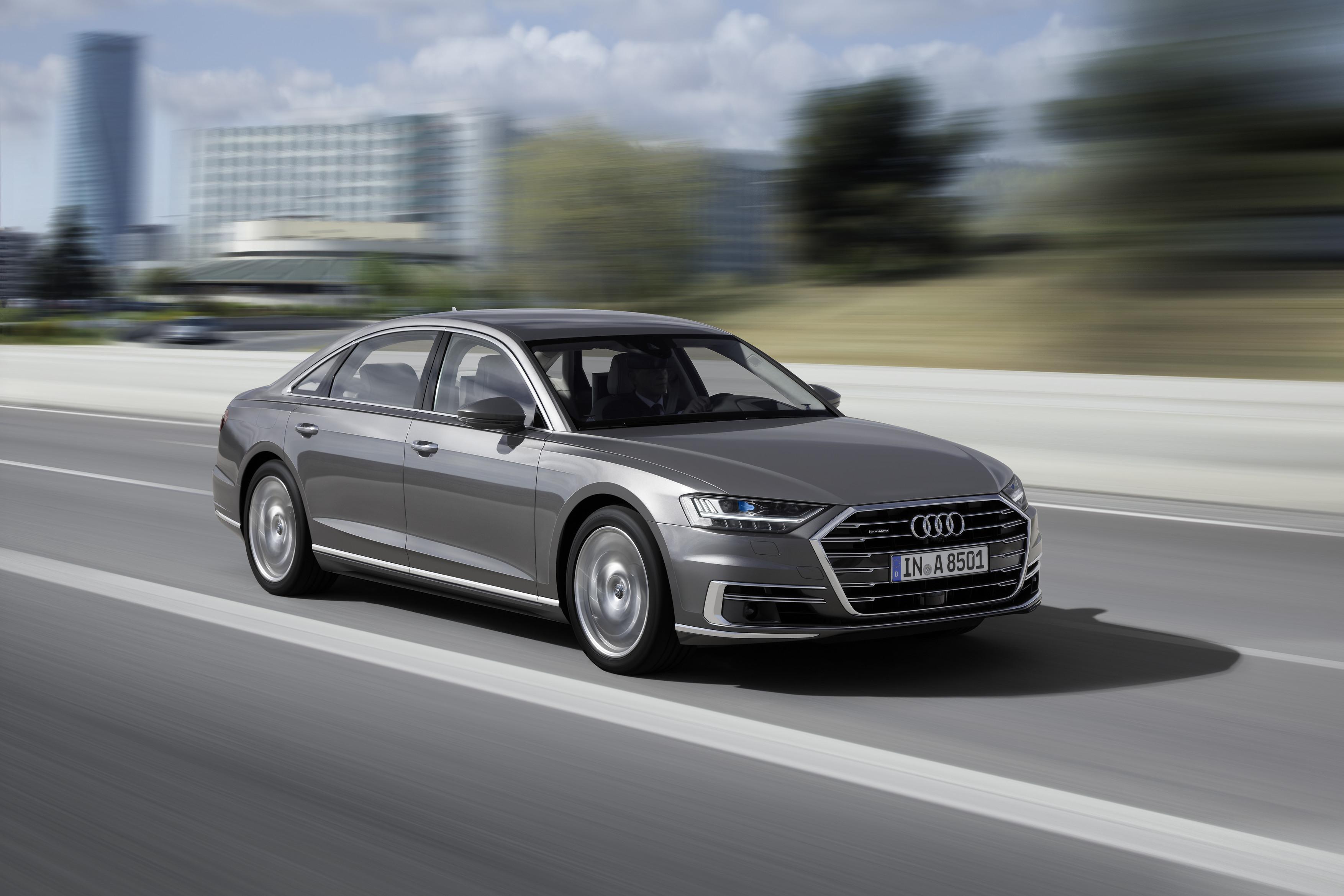 Audi A8 - kép forrása: Audi Media Center