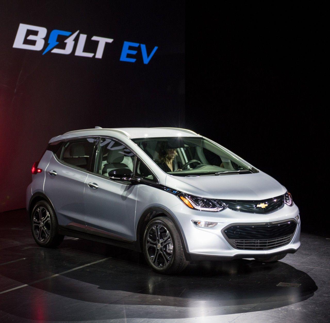 Chevrolet Bolt - Kép forrása: GM Media