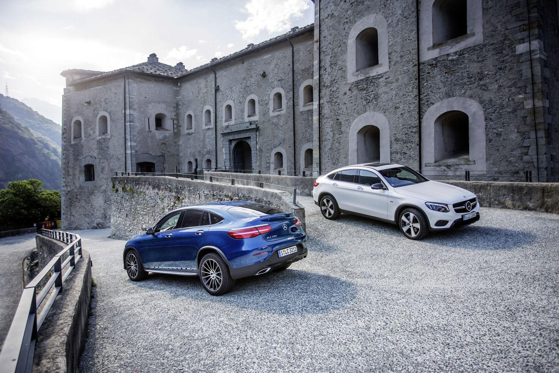 Mercedes-Benz GLC 250 Coupé - kép forrása: Daimler Global