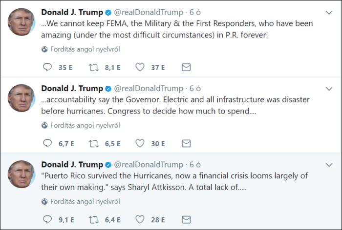 trump puerto rico twitter