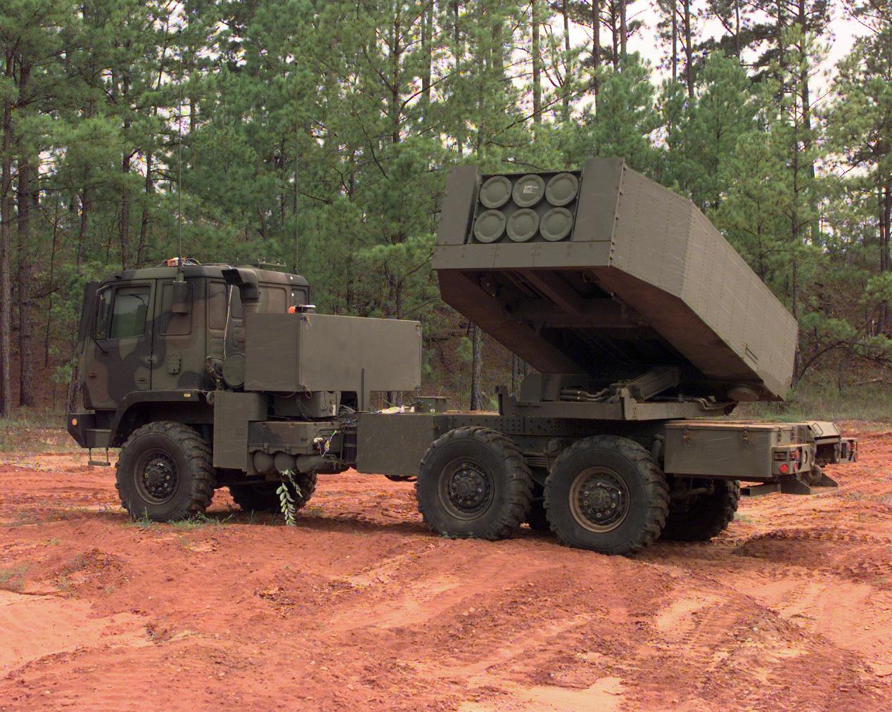 High Mobility Artillery Rocket System (HIMARS)  - Kép forrása: U.S. Army / Spc. Russell J. Good
