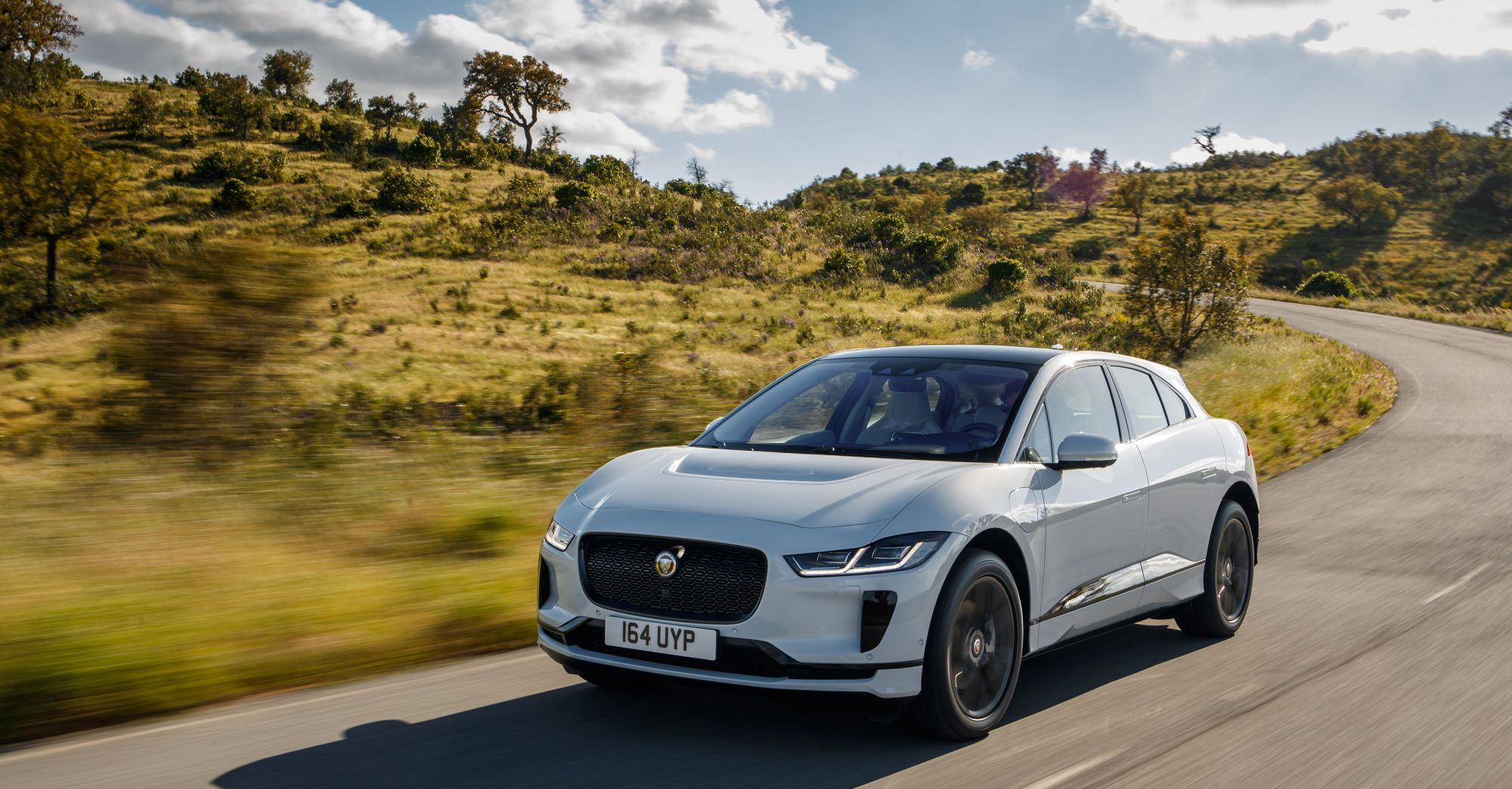 Jaguar I-Pace - kép forrása: Jaguar media site